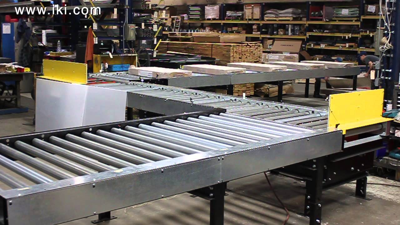 Motorized & Powered Roller Conveyors | Industrial Kinetics