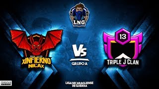 Triple J Clan vs xINFIERNO NICAx *LNG* | Clash of Clans | Gamer Freak