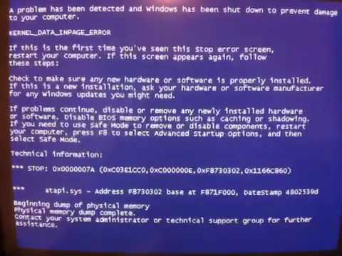 bsod- stop errror call 1-888-255-7660 for support