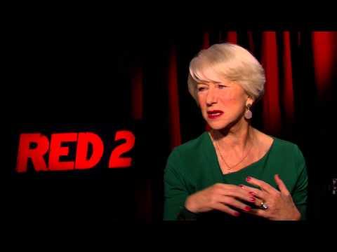RED 2 CAST INTERVIEWS: Bruce Willis, Anthony Hopkins, Helen Mirren, Byung hun Lee