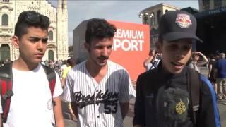 الأجواء في ميلانو قبيل مباراة نهائى أبطال أوروبا