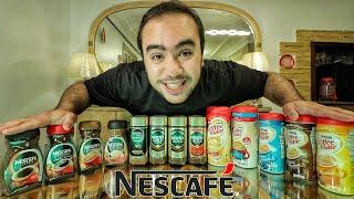 تشرب ايه من Nescafe ؟ ☕
