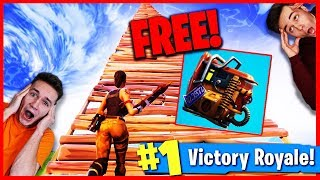 FORTNITE BATTLE ROYALE LIVE ! V-BUCKS VERLOSUNG ! 😱 FREE BACKPACK AND SKYBASE CHALLENGE !