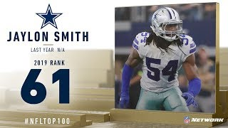 #61: Jaylon Smith (MLB, Cowboys) | Top 100 Players of 2019 | NFL