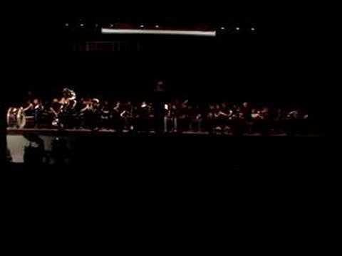 Evil Ways - Mercer Middle School Band Spring Concert 2008