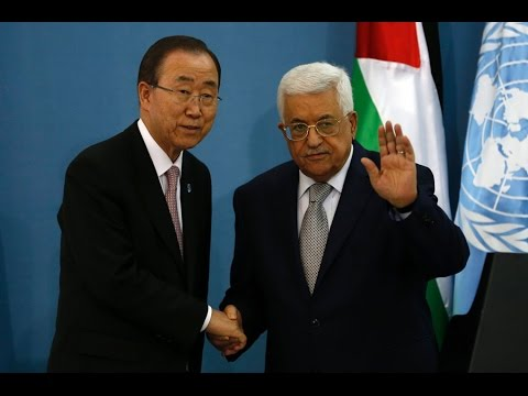 UN Secretary-General Ban Ki-moon visits Gaza