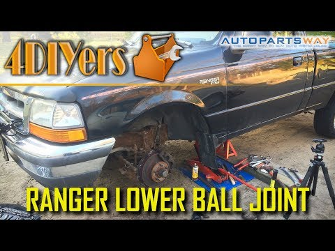 DIY: Ford Ranger 2wd Lower Ball Joint Replacement