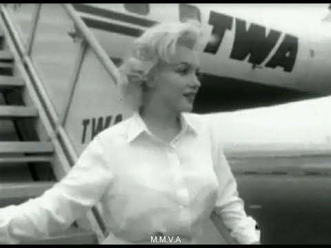 Footage Of Marilyn Monroe Returning To Film