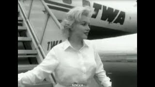 "Footage Of Marilyn Monroe Returning To Film ""Some Like It Hot"" 1958  -  ""To Be Completely Yourself"""