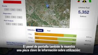 Cat® Product Link™ | Dashboard  (Spanish - Latin America Subtitles)