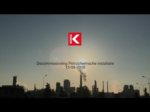 Dismantling chemical plant INEOS Geel
