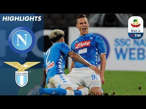 Napoli 2-1 Lazio   Goals from Callejón and Milik as Napoli edge past Lazio   Serie A