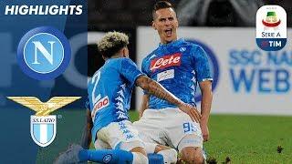 Napoli 2 1 Lazio | Goals From Callejón And Milik As Napoli Edge Past Lazio | Serie A