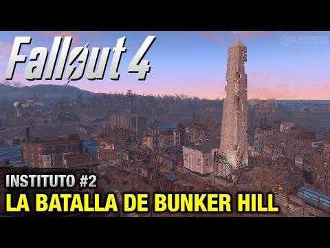 Fallout 4 - Misión del Instituto #2 - La Batalla de Bunker Hill (1080p 60fps)