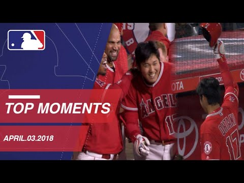 Check out 10 moments from around the Majors: 4/3/18