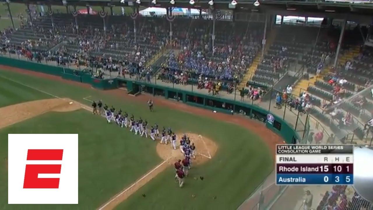 2018 Little League World Series highlights - Rhode Island routs Australia | ESPN