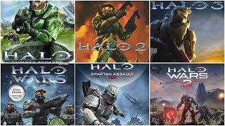 [HD] Halo Xbox Evolution (2001-2017)