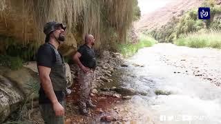 المغامر أوس المرايات يتتبع المسارات المائية في الطفيلة  -(13-6-2019)