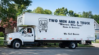 Marion Moving Truck Bodies — Two Men And A Truck
