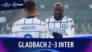 Borussia Mönchengladbach v Inter Milan (2-3) | Champions League Highlights
