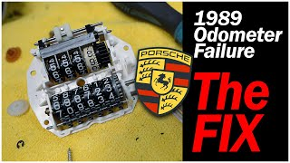 1989 Porsche 911 Odometer Stopped Counting Up The Miles