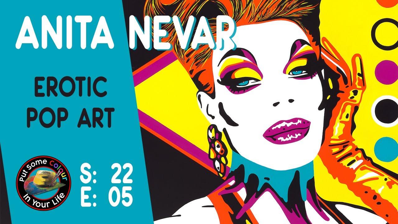 Erotic Artist Anita Nevar   Colour In Your Life