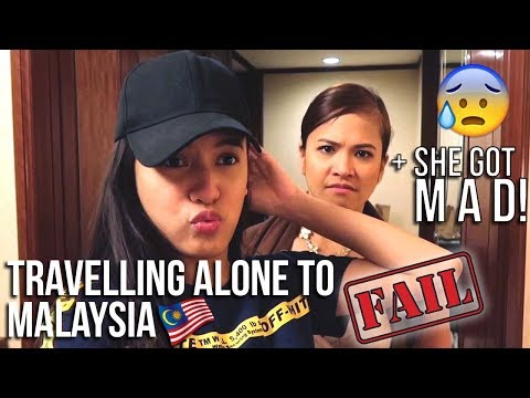 VLOG #15 - TRAVELLING ALONE TO MALAYSIA (FAIL)