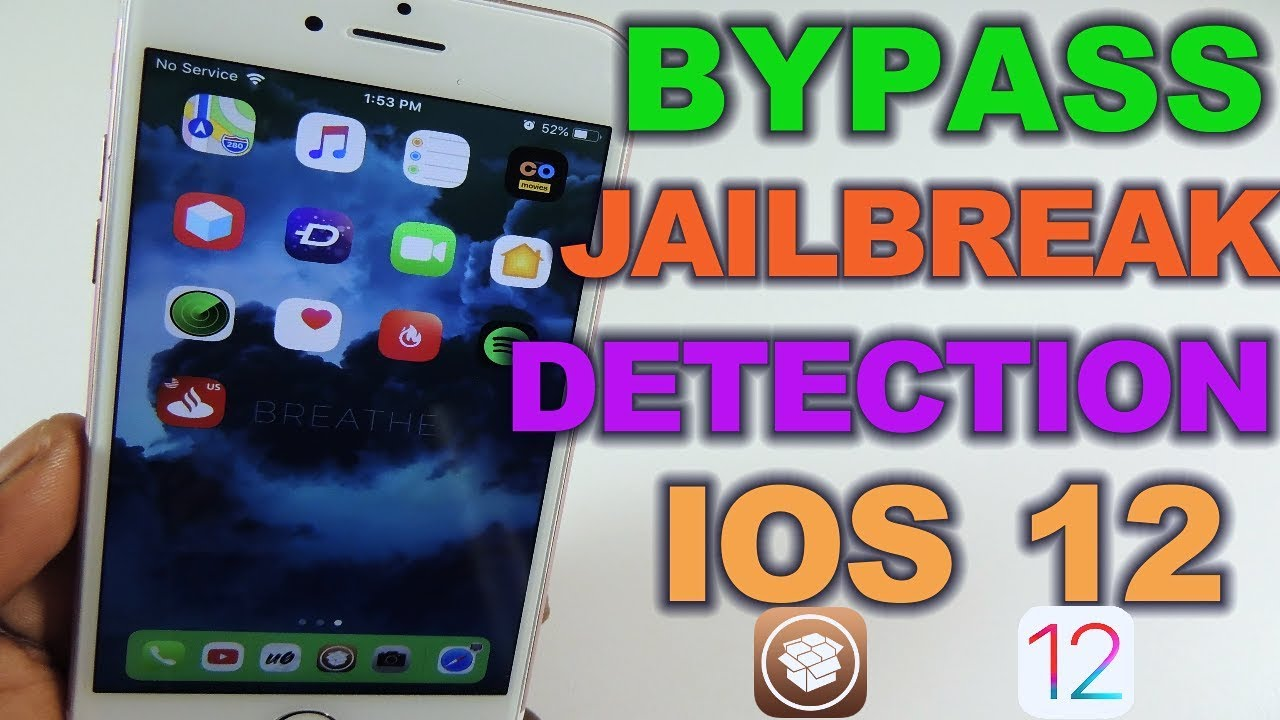 Bypass Jailbreak Detection Ios 12 Youtube