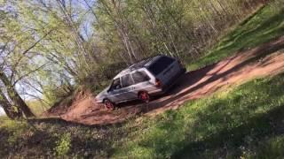 1986 Volkswagen Quantum Syncro Wagon Off-Roading