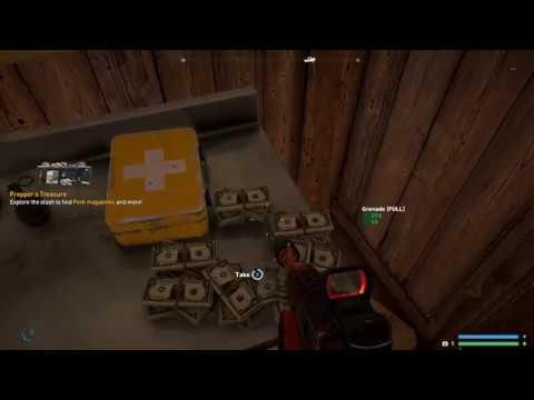 Far Cry 5 (Pooper Scooper) Find The Key in The Poo Prepper Stash Side Mission
