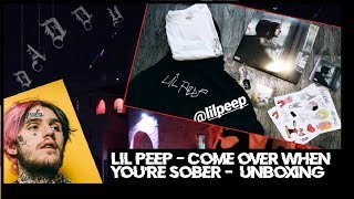 Lil peep - Come Over When You're Sober UNBOXING PREORDER