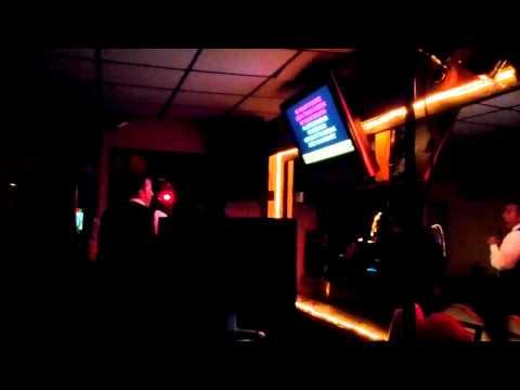 Moses singing karaoke