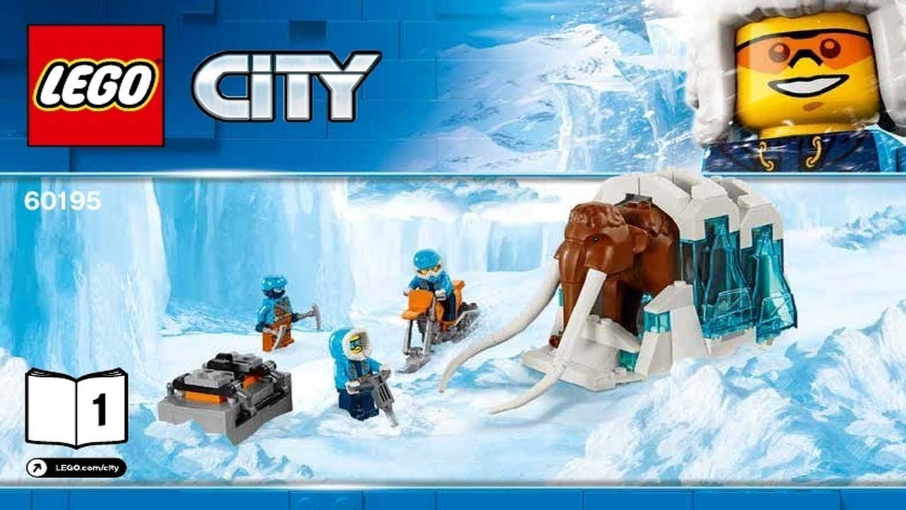 INSTRUCTION MANUALS ONLY ~~LEGO CITY 60195