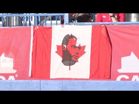 Après-match - Canada v Curaçao - Postgame