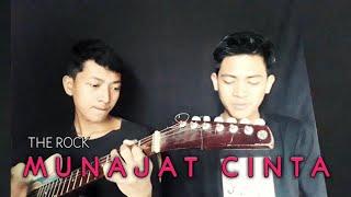 Download The Rock-Munajat Cinta(Cover) by Syafiq ft Hafi