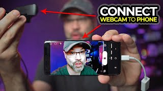 How to connect phone to webcam - Android webcam USB