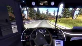 Euro Truck Simulator 2 - Viagem de Ônibus