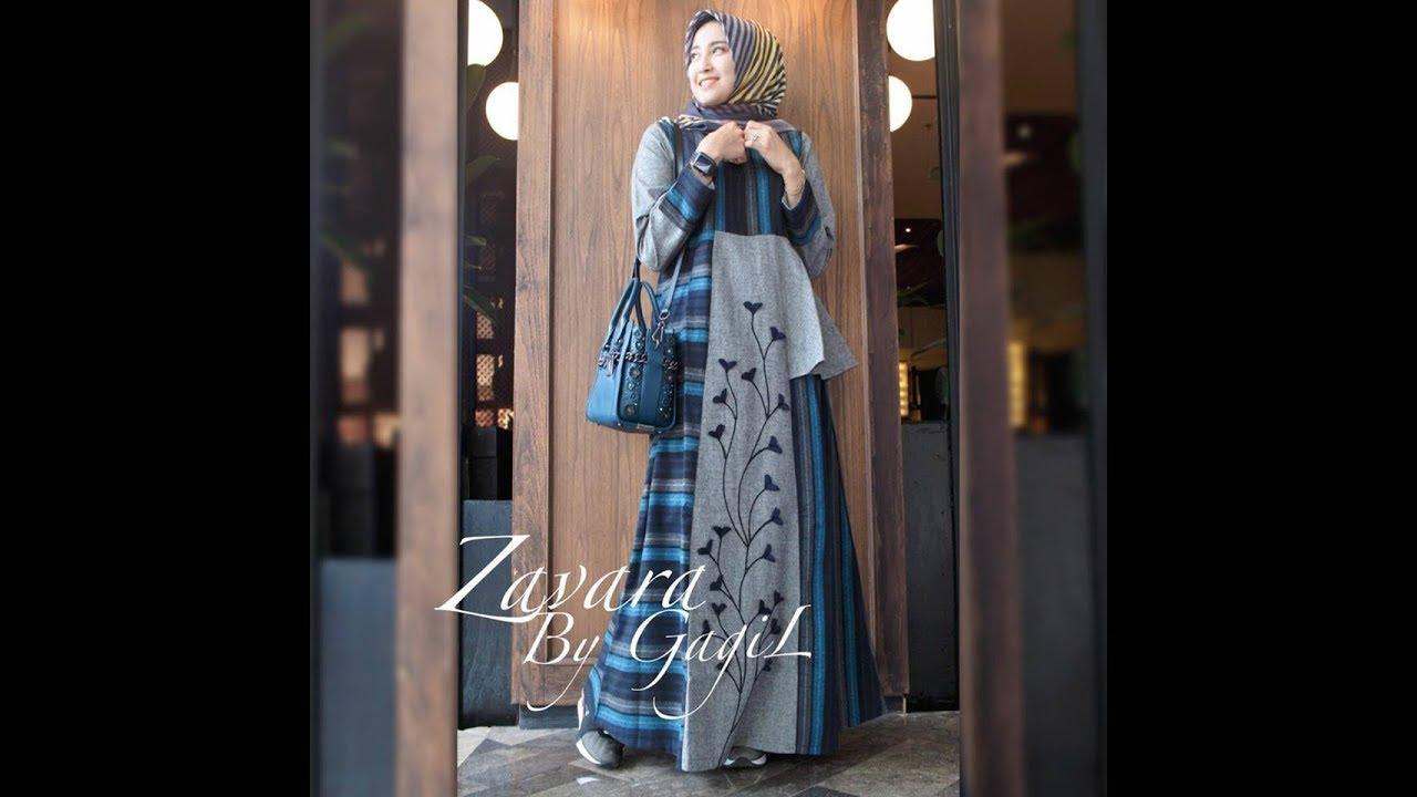 Design Baju Kerja Wanita Muslimah 11 - Baju Kantor Hijab - YouTube
