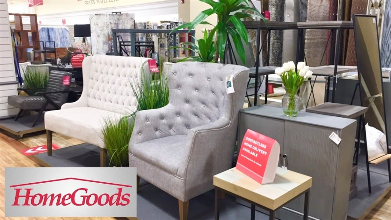 homegoods furniture armchairs coffee tables home decor shop with me shopping store walk through