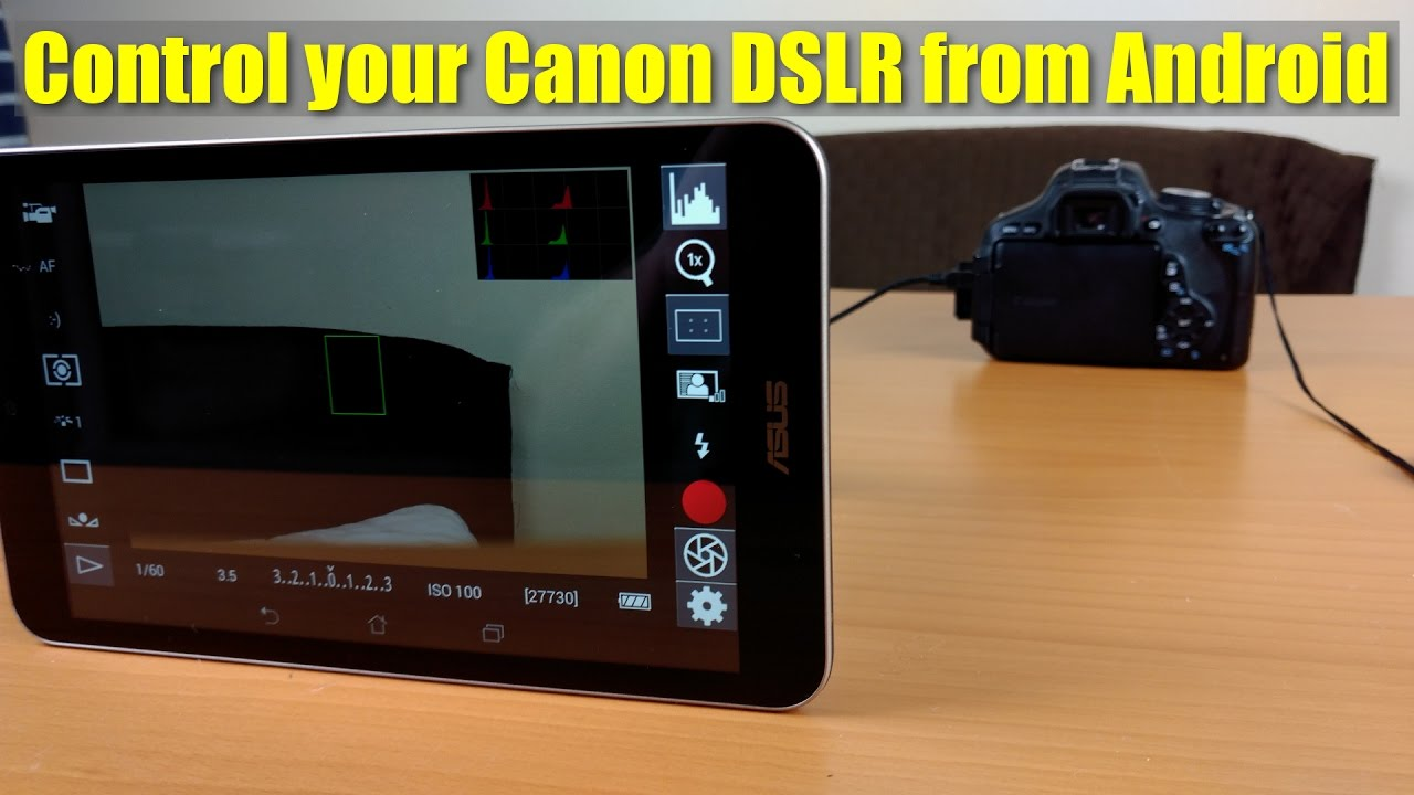 Tutorial - How to connect Android to Canon DSLR - Who needs a ...