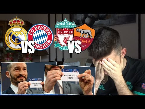 HINCHA del REAL MADRID reacciona al SORTEO de SEMIFINALES de la UEFA CHAMPIONS LEGAUE