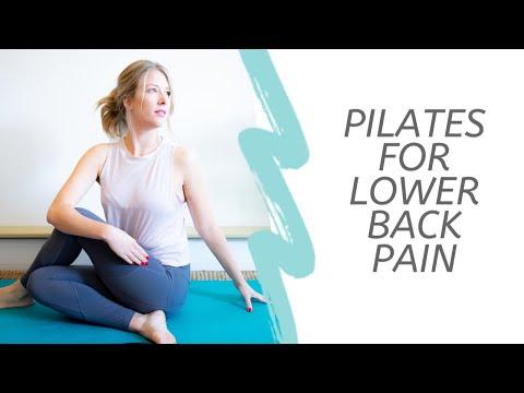 Pilates for lower back pain Beginner level