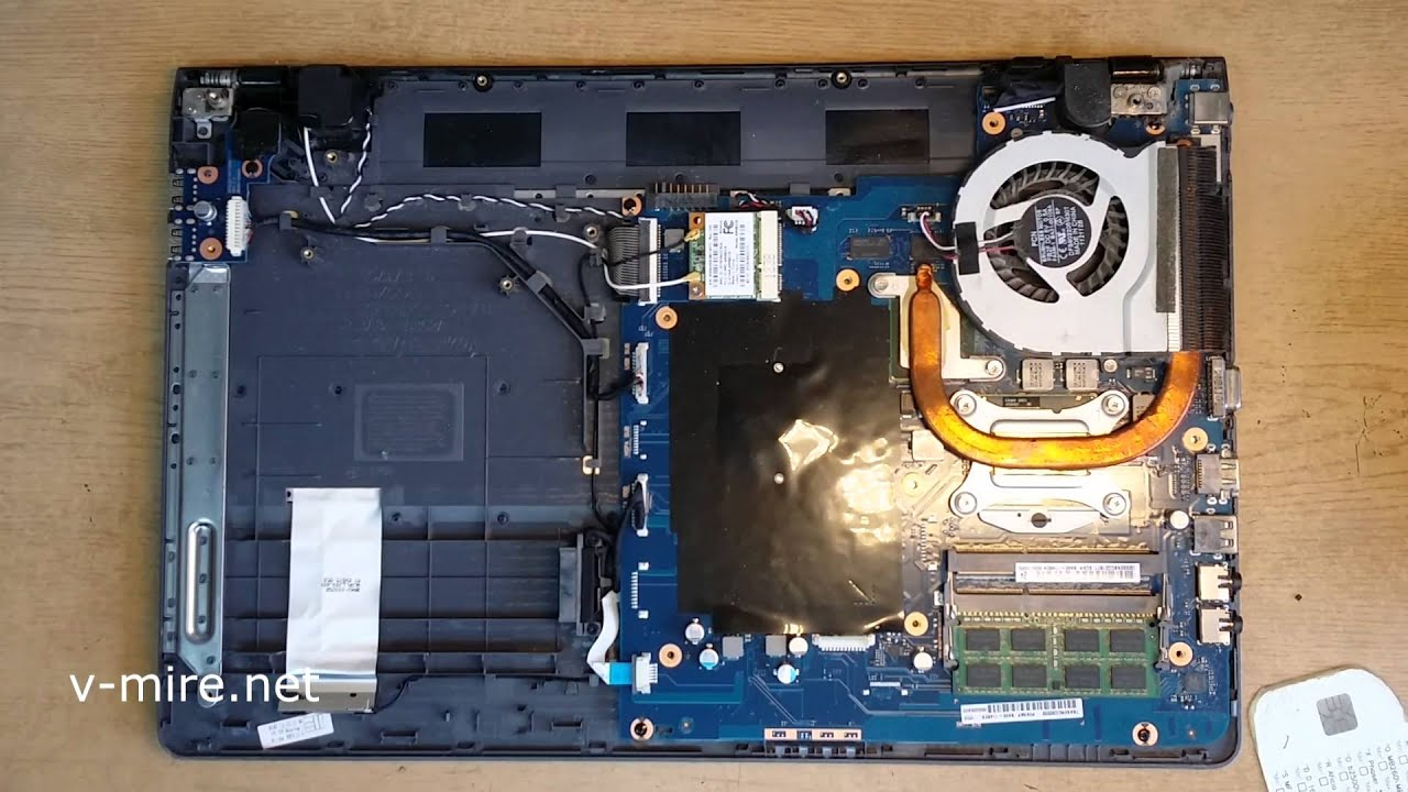Samsung np300e5e схема