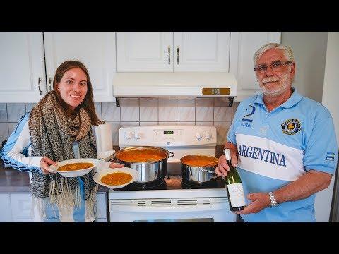 Locro Argentino eten + vieren op 25 mei