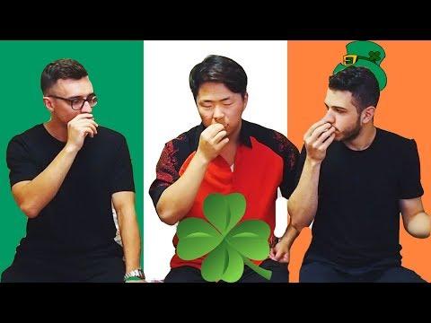 Пробуем Ирландские Сладости w/ Irakli G, Sasha Levin
