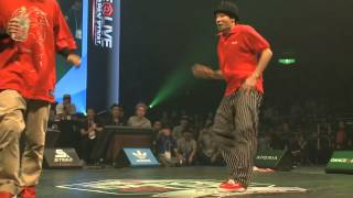 SHUHO vs KITE DANCE@LIVE 2013 JAPAN FINAL FREESTYLE 【QUARTERFINAL】