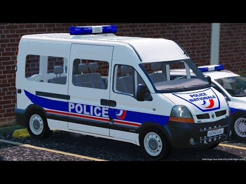 [GTA-LSPDFR] Renault Master Police Secours | Police Nationale #71