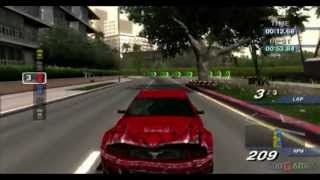 Ford Street Racing - Gameplay PS2 (PS2 Games on PS3)