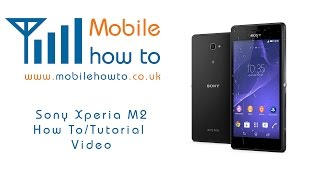 How To Set A Ringtone - Sony Xperia M2