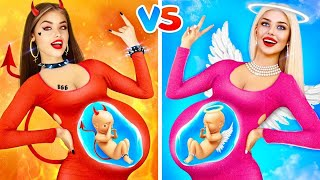 Good Pregnant vs Bad Pregnant   Soft vs Firm! Types of Pregnant and Epic Stories by RATATA BOOM screenshot 5